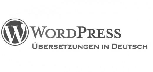 WordPress Übersetzungen