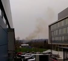 Feuer bei Poppe GmbH Gießen