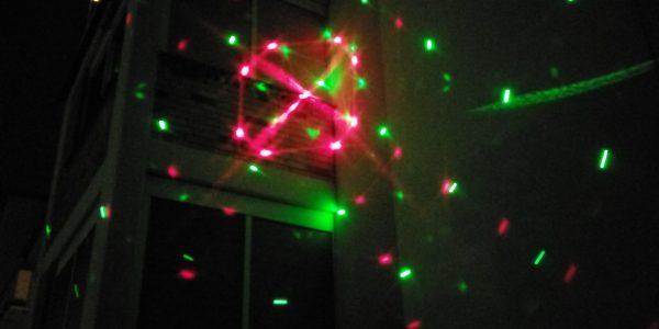 Salcar Galaxy LED Lichteffekt Projektor