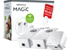 devolo Magic 1 Wifi Multimedia Power Kit