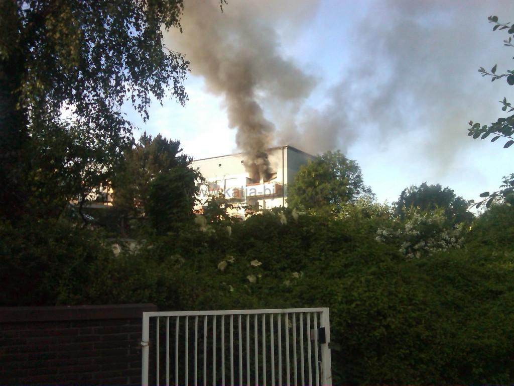 Wohnungsbrand Tiehlmannweg Gießen (10.06.2010)