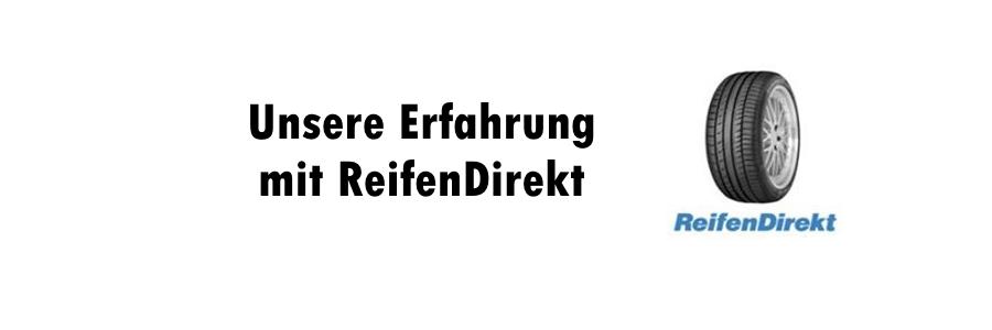Unsere Erfahrung mit Reifendirekt.de