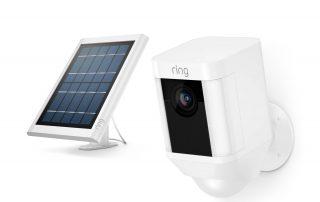 Ring Spotlight Outdoor Cam Battery & Ring Solar Panel